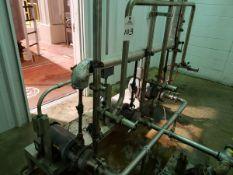 Corn Syrup Transfer Pump System   Rig Fee $150