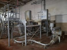 3 Place Dry Material Feeder Platform | Rig Fee $2500