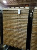 Lot of (560) Baking Pans | Rig Fee $400