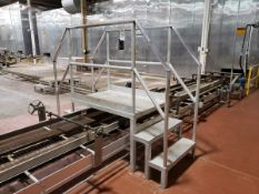 Aluminum Crossover Stairs | Rig Fee $