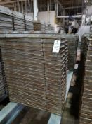 Lot of (150) Baking Pans | Rig Fee $100