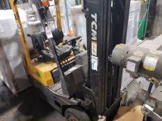 TCM Forklift, 2600 lbs. Cap., 6661 Hours, M# FCG15T8T, S/N A15W02098   Rig Fee $150