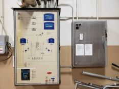 Lot of (2) Electrical Control Panels | Rig Fee $150