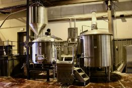2013 Specific Mechanical 20 BBL 2-Vessel Brewhouse, Mash Lauter Tun, - Subj to Bulk | Rig Fee $3500