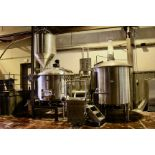 2013 Specific Mechanical 20 BBL 2-Vessel Brewhouse, Mash Lauter Tun, - Subj to Bulk   Rig Fee $3500