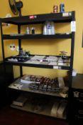 Lot of (2) Steel Shelving Units | Rig Fee $25