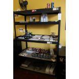 Lot of (2) Steel Shelving Units   Rig Fee $25