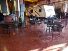 Lot of (6) Bar Tables & (24) Chairs | Rig Fee $100