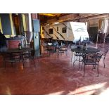 Lot of (6) Bar Tables & (24) Chairs   Rig Fee $100