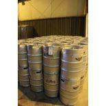 Lot of (10) Half Barrel Kegs   Rig Fee $100 Packaged