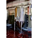 2013 Specific Mechanical 20 BBL Fermenter, Glycol Jacketed, Approx 5' - Subj to Bulk   Rig Fee $700