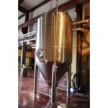 2013 Specific Mechanical 40 BBL Fermenter, Glycol Jacketed, Approx 6' - Subj to Bulk   Rig Fee $850