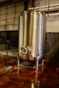 2013 Specific Mechanical 40 BBL Brite Tank, Glycol Jacketed, Approx 6' - Subj to Bulk | Rig Fee $850
