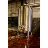 2013 Specific Mechanical 40 BBL Brite Tank, Glycol Jacketed, Approx 6' - Subj to Bulk   Rig Fee $850