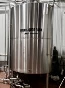 2012 JV Northwest Cold Liquor Tank, Glycol Jacketed, 1,800 Gallon Capacity   Reqd Rig Fee: $1500
