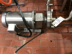 """FRISTAM CENTRIFUGAL PUMP, 2"""" INLET, 1.5"""" OUTLET, 5 HP, MODEL FPX353109 - Subj to Bulk 