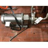 """FRISTAM CENTRIFUGAL PUMP, 2"""" INLET, 1.5"""" OUTLET, 5 HP, MODEL FPX353109 - Subj to Bulk   Rig Fee $75"""