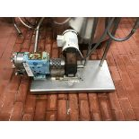"""WAUKESHA MODEL 030 POSITIVE DISPLACEMENT PUMP, 1.5"""" INLET, 1.5"""" OUTLET - Subj to Bulk   Rig Fee $75"""