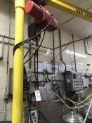DAYTON ELECTRIC CHAIN HOIST, 1-TON, 110 V | Rig Fee $75