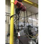 DAYTON ELECTRIC CHAIN HOIST, 1-TON, 110 V   Rig Fee $75