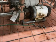 """FRISTAM CENTRIFUGAL PUMP, 2.5"""" INLET BY 2"""" OUTLET, 5 HP, S/N: 141172190 - Subj to Bulk 