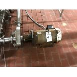 """FRISTAM CENTRIFUGAL PUMP, 2.5"""" INLET, 2"""" OUTLET, 7.5 HP, S/N: FPX73299 - Subj to Bulk   Rig Fee $75"""
