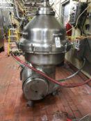 ALFA LAVAL STANDARDIZING HOT MILK SEPARATOR, 4500 RPM BOWL, WITH TOOLS, MODEL MRPX-2 | Rig Fee $3500