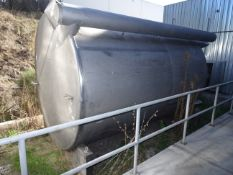 5000 Gallon Hot Water Storage Tank, Stainless Steel Single Wall Storage Tank For Ho - Contact Rigger
