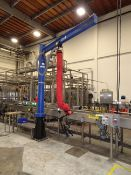 Keg Vacuum Lift Vaculex Lift System On Approx 10 Ft High X 7-1/2Ft Long Trolley Arm - Contact Rigger