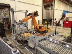 2006 Kuka/KHS Robot Palletizing Cell For Kegs, Palletizing Cell Setup For Destackin - Contact Rigger