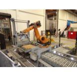 2006 Kuka/KHS Robot Palletizing Cell For Kegs, Palletizing Cell Setup For Destackin - Contact Rigger