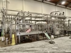 2006 KHS Keg Line For 5 & 15 Gallon Kegs, Complete Twin 8-Station Filling Line Rate - Contact Rigger