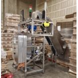 2013 Albert Frey Keg Capper, Elevator and Sorter, Self Contained, Siemens Simatic P - Contact Rigger