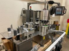 Labeler and Laser Coder - Sancoa 10-Station Rotary Labeler with Optel Vision System | Rig Fee $400