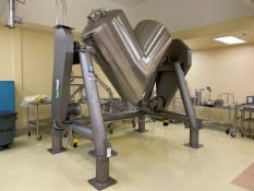 2014 Patterson Kelly All Stainless Steel V-Blender, 50CuFt Approx, Intensifier, Cont | Rig Fee $1850