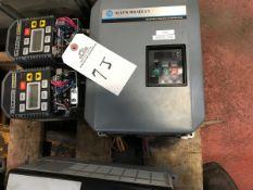 Allen Bradley 3 HP VFD, (2) Baldor 1 HP VFDs | Rig Fee: $75