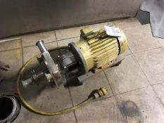 Fristam Centrifugal Pump 2 inch inlet/1.5 inch outlet | Rig Fee: $100