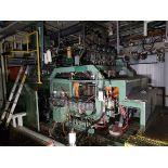 Uniloy 5 Head Blow Molding Machine, M# 350R1, S/N 350R1-2431   Rig Fee: $14500