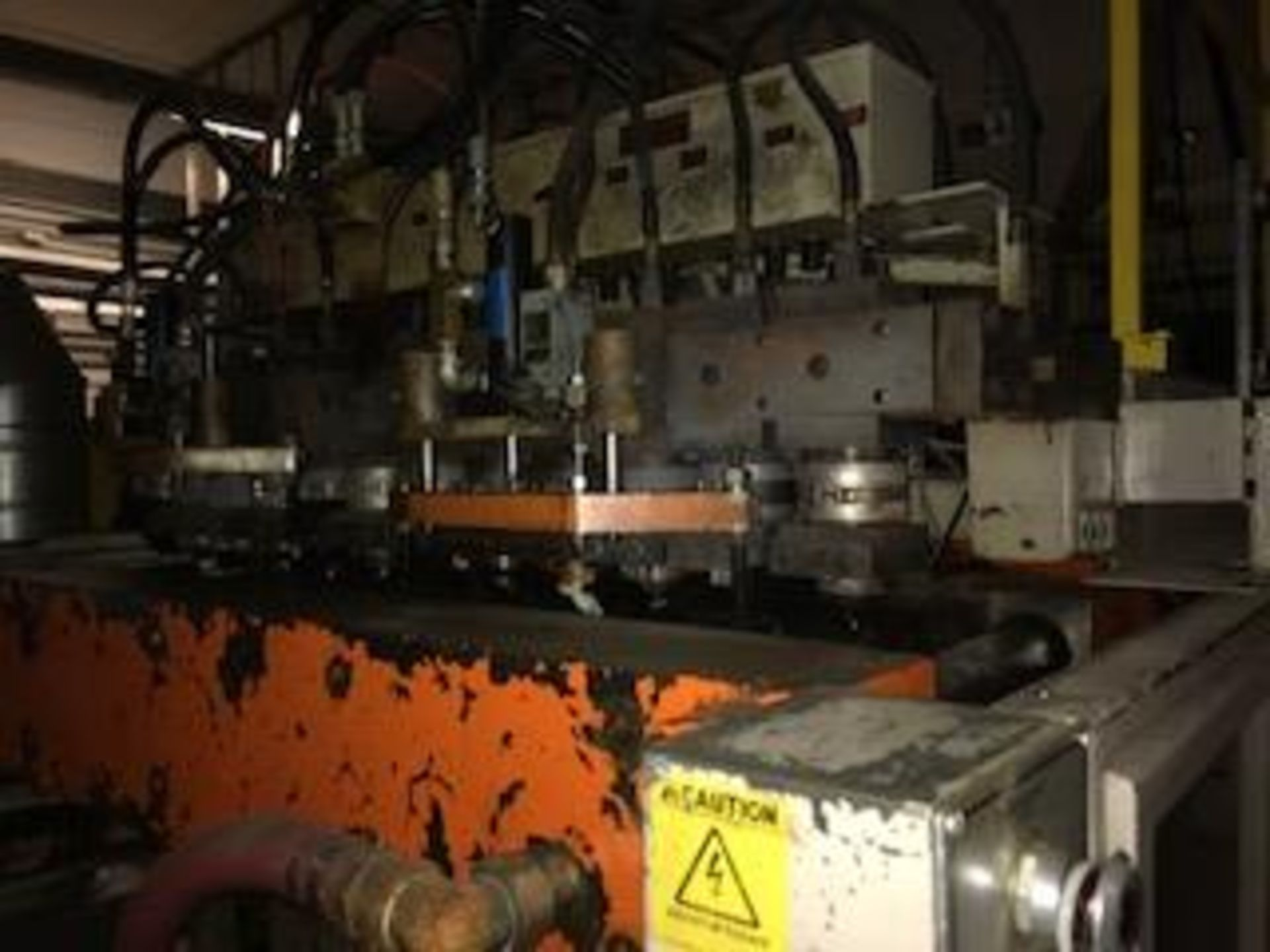 Uniloy Milacron 12-Head Blow Molding Machine Model RS13500, S/N 89105 | Rig Fee: $14500 - Image 5 of 5