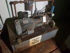 15 HP Hydraulic Pump Skid | Rig Fee: $850