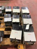 (8) Allen Bradley Powerflex 70 VFDs, (1) 20 HP, (4) 15 HP, (2) 10 HP, (1) 7.5 HP | Rig Fee: $200