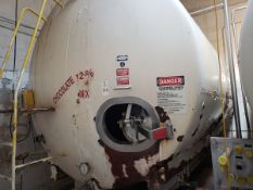 Walker 6,500 Gallon Jacketed Agitated Stainless Steel Tank, Load Cell Mounted | Rig Fee: $3500