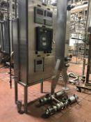 Cherry Burrell Flow Diversion Valves, HTST Panel, 3in, Diesel Flow Meter | Rig Fee: $275
