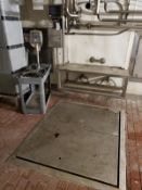 In-Floor Platform Scale, W/ Bench Top Scale | Rig Fee: $500
