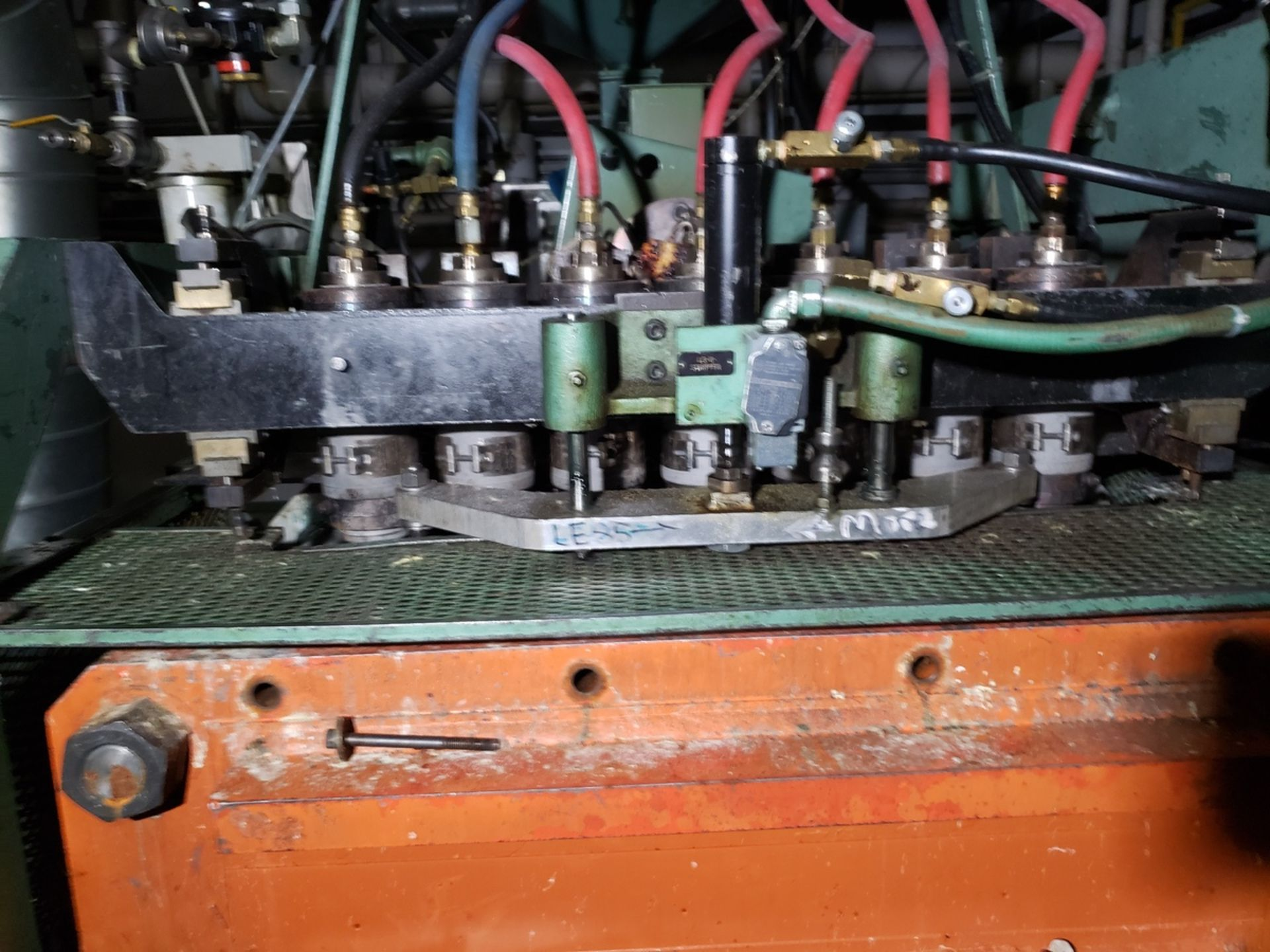 Uniloy 7-Head Blow Molding Machine, M# 250R1, S/N 250R1-3944 | Rig Fee: $14500 - Image 7 of 8