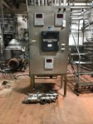 Cherry Burrell Flow Diversion Valves, HTST Panel, 2.5in | Rig Fee: $275