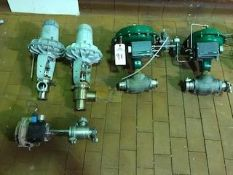 (5) Air Actuated Valves, 1.5in - 3in | Rig Fee: $150