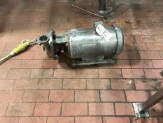 Pump, 2.5in/2in Inlet/Outlet, Stainless Steel Motor | Rig Fee: $100