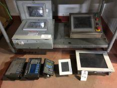 Allen Bradley Touchscreens, (2) 1000, (1) 1500P, (1) 600, (1) 300 | Rig Fee: $150