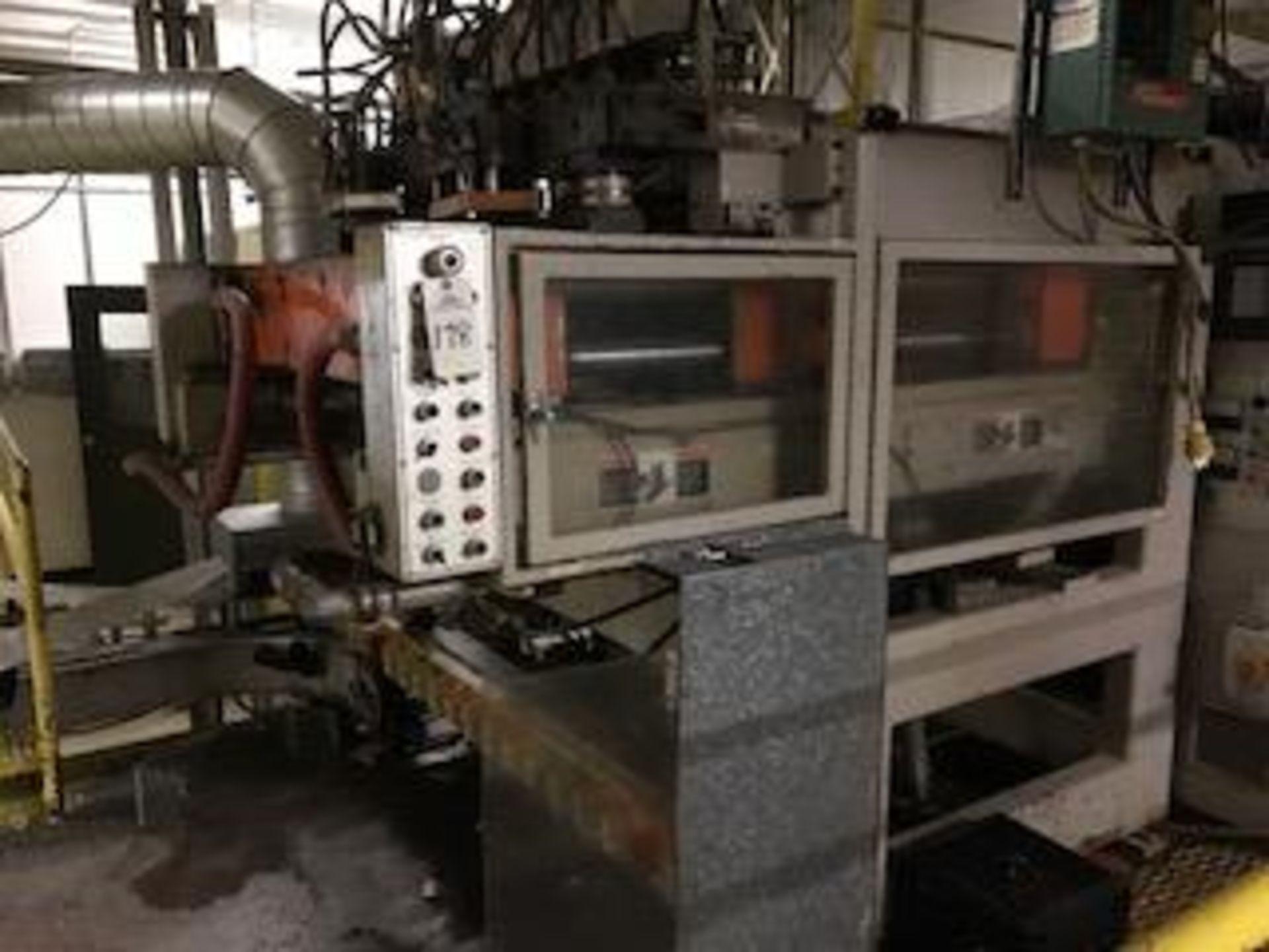 Uniloy Milacron 12-Head Blow Molding Machine Model RS13500, S/N 89105 | Rig Fee: $14500
